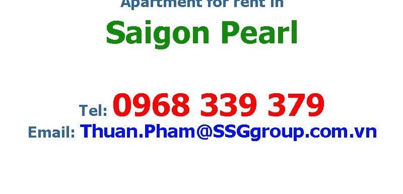 apartment for ren in saigon pearl