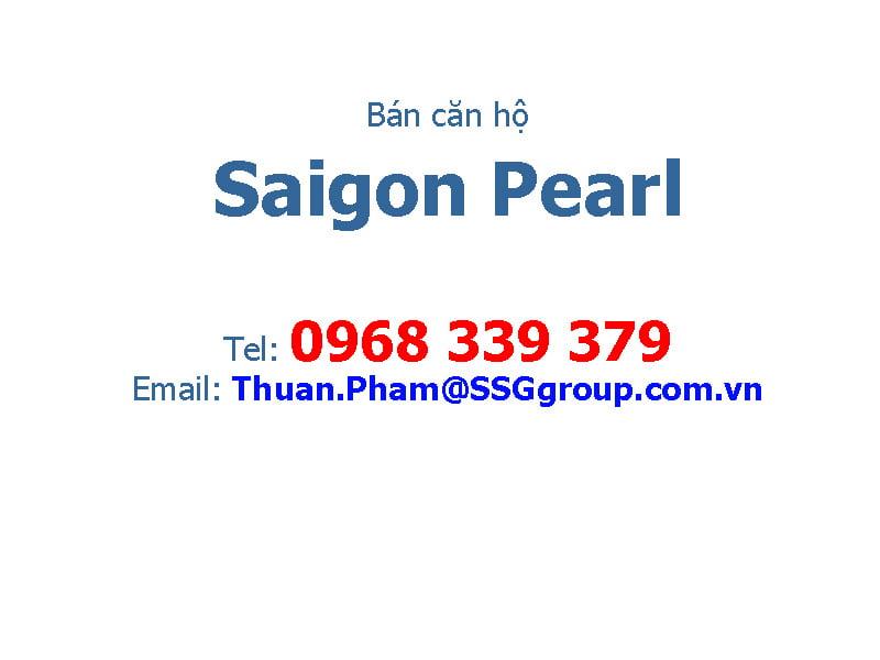 ban cho thue can ho saigon pearl
