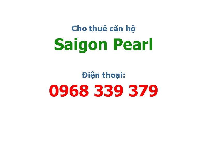 cho thue can ho saigon pearl
