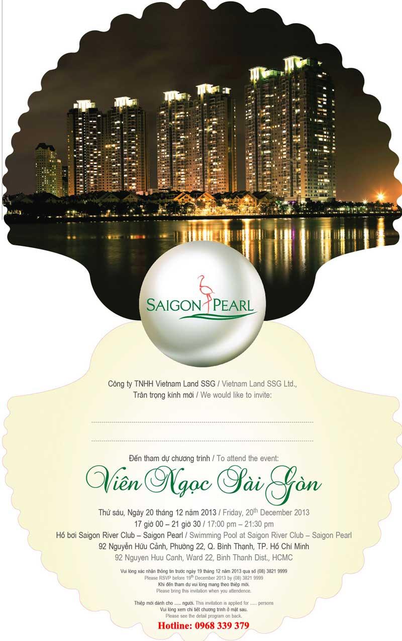 chuong trinh event saigon pearl 2013