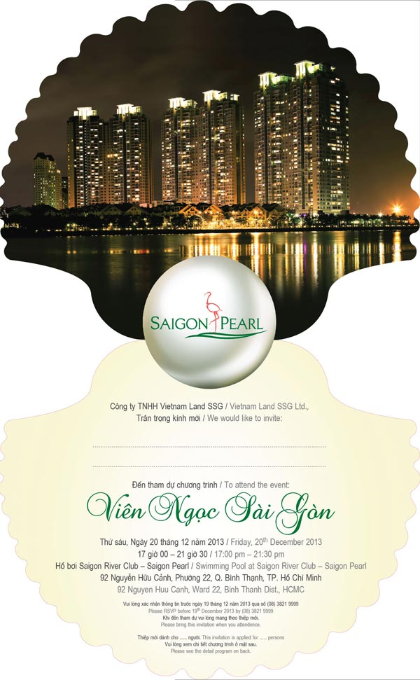 thiep moi event du an Saigon Pearl