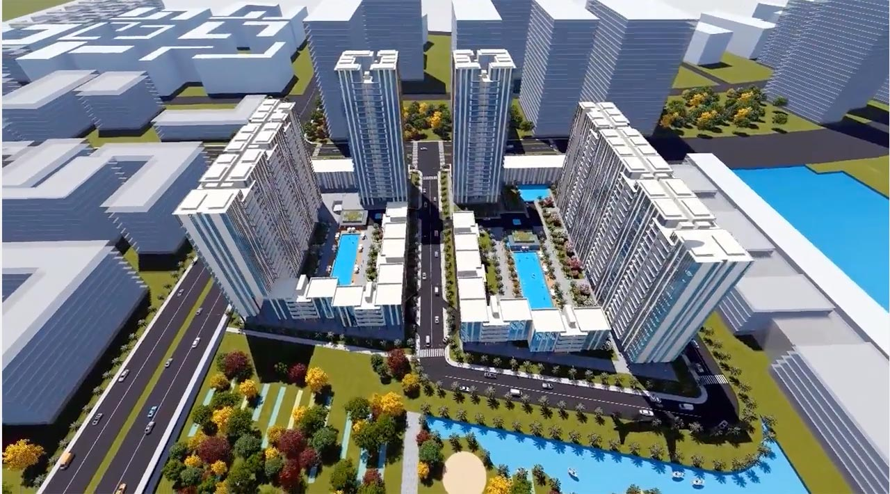 Hình phối cảnh căn hộ Thủ Thiêm River Park Quận 2