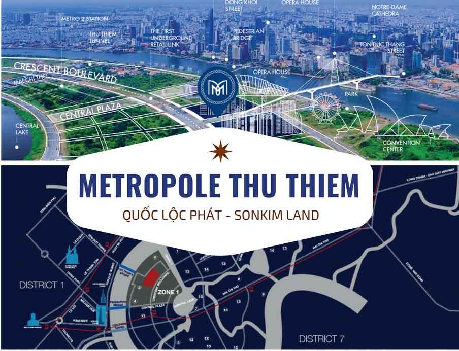 Dự án Metropole Thủ Thiêm Quận 2