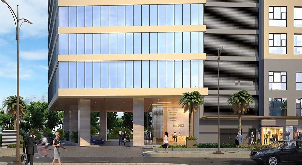 Toà nhà Opal Office cho thuê