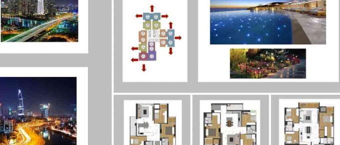 Mặt bằng căn hộ Laimian City 3 phòng ngủ