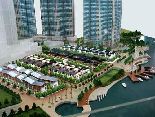 Biệt thự Saigon Pearl năm 2020