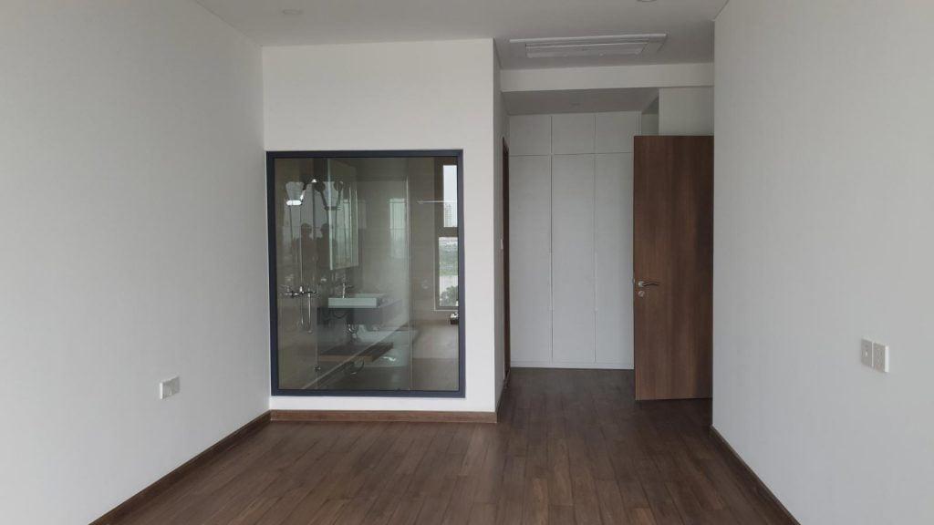 Hình ảnh thực tế phòng ngủ chính căn hộ Opal Saigon Pearl 3 phòng ngủ