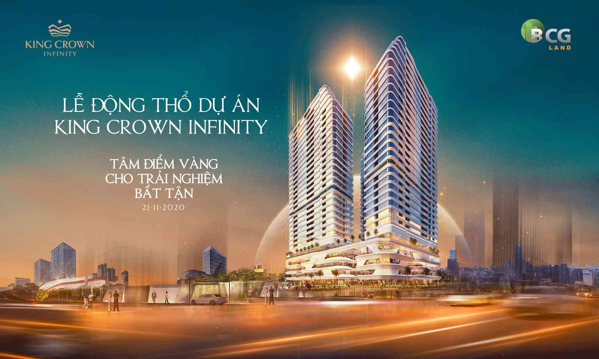 HÌNH PHỐI CẢNH DỰ ÁN KING CROWN INFINITY THỦ ĐỨC